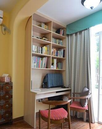 北阳台改书房-阳台改小书房设计