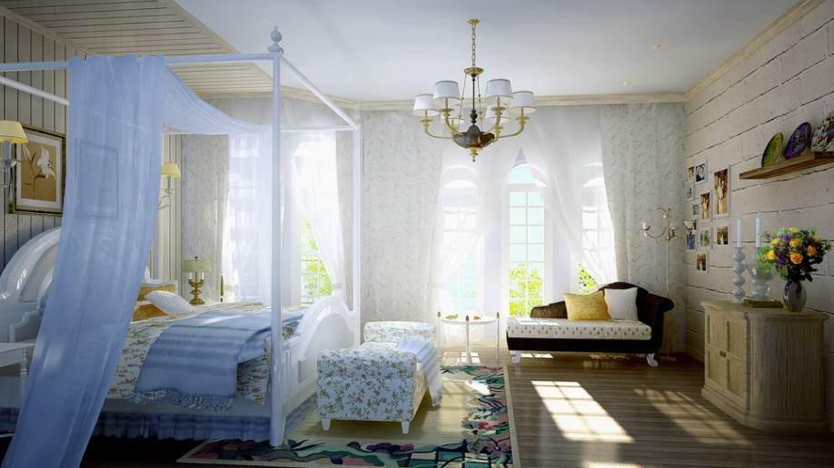 小户型卧室效果图-小户型卧室装修图好处多多高清图片
