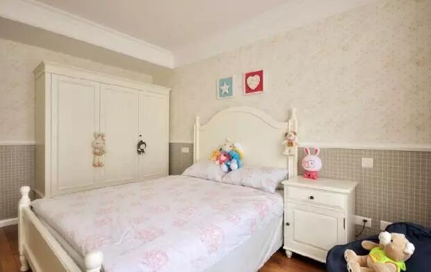 儿童房组合衣柜效果图开始,让孩子自己做主吧