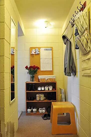 入户隔断玄关设计效果图 精致客厅隔断设计高清图片