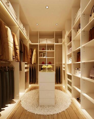 DIY迷你衣帽间,满足个性化以及空间最大化的收纳需求