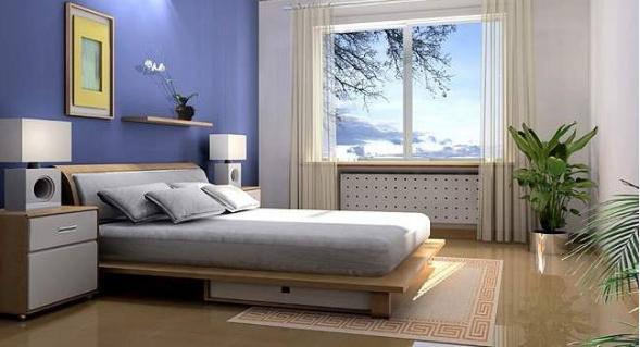 复式楼卧室装修,图案和颜色是一定要考虑的