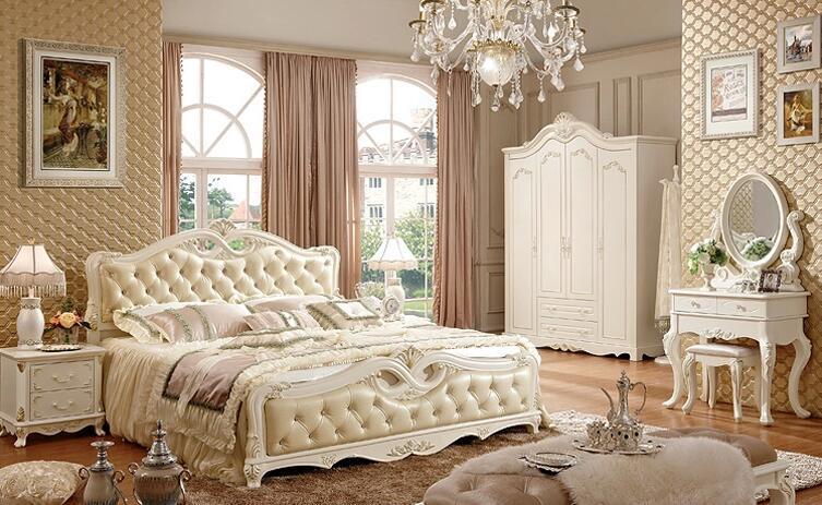 卧室家具套装组合四的布局方法