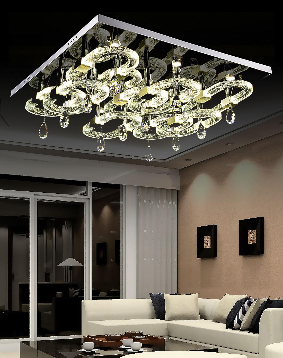 客厅装水晶灯好吗?