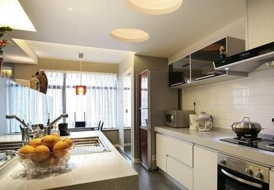 厨房石膏板吊顶图片之耐水石膏板