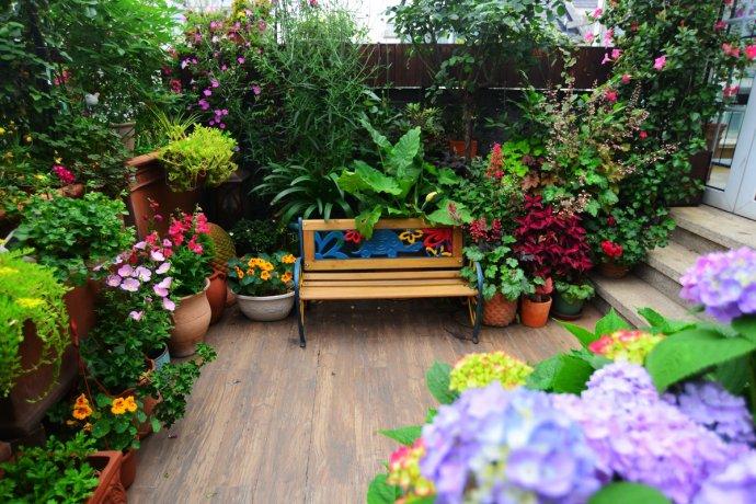 阳台花园装修设计,效果真的好美!