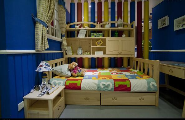 儿童房实木家具与木质家具分别