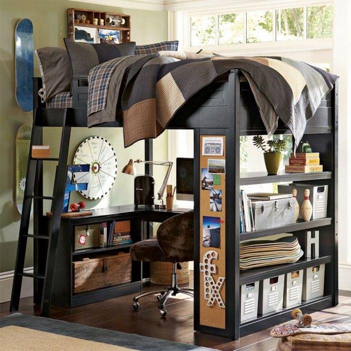 儿童房家具组合设计,空间最大化利用