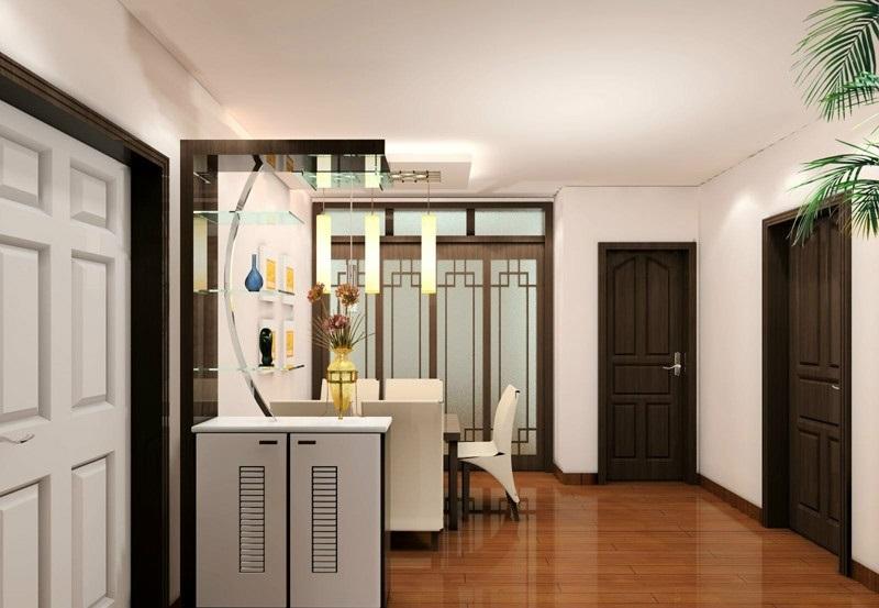 玄关柜设计效果图欣赏,美好心情每一天