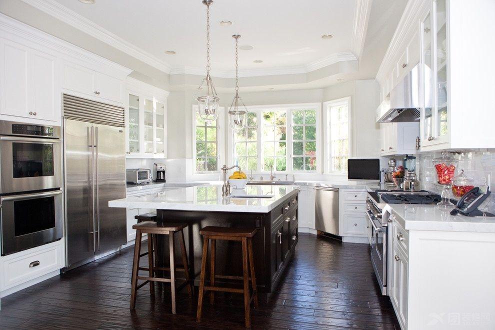 开放式厨房吊顶图片,美得不要不要滴!