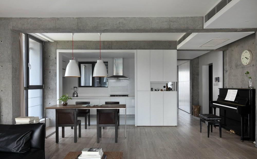 开放式厨房吊顶图片,看完再开工!