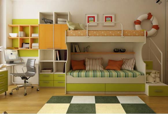 两个孩子儿童房怎么设计最好