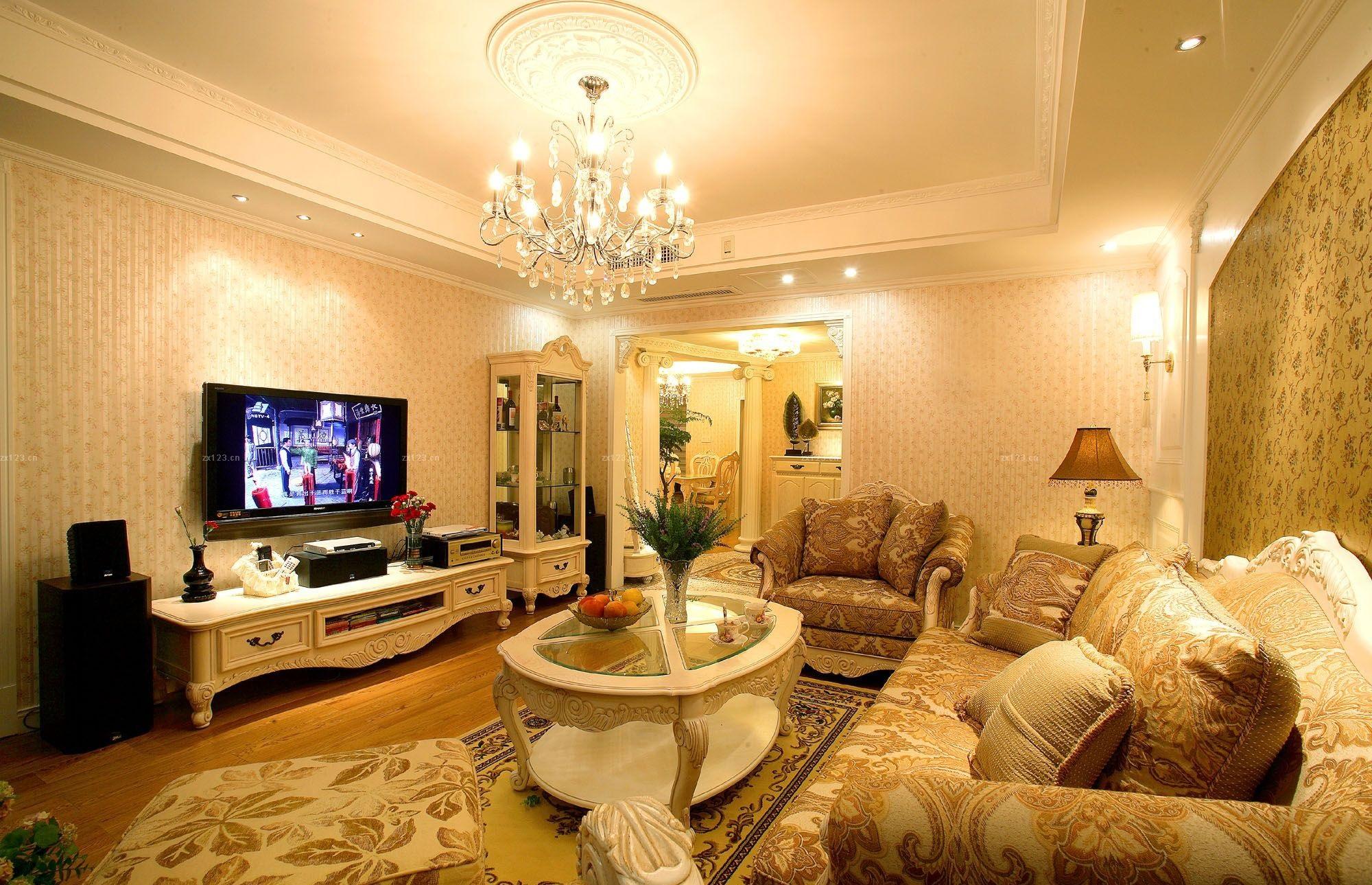 欧式电视柜效果图推荐,欧式电视柜是什么样?