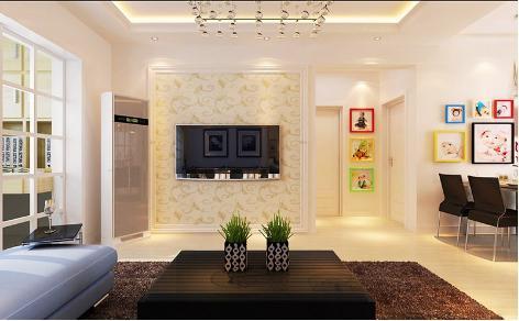 小户型电视墙设计图推荐