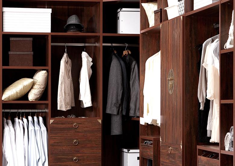 如何区分中式衣帽间的功能区?