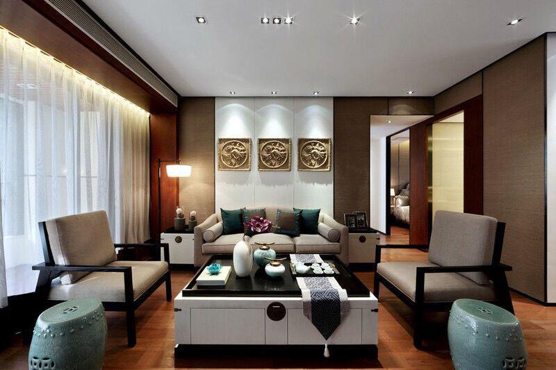 新中式客厅效果图赏析,一起揭秘设计理念