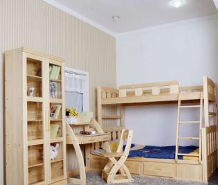 我家孩子要儿童实木套房家具