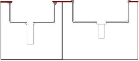 厨房水槽台下盆好吗 和台上盆有什么区别