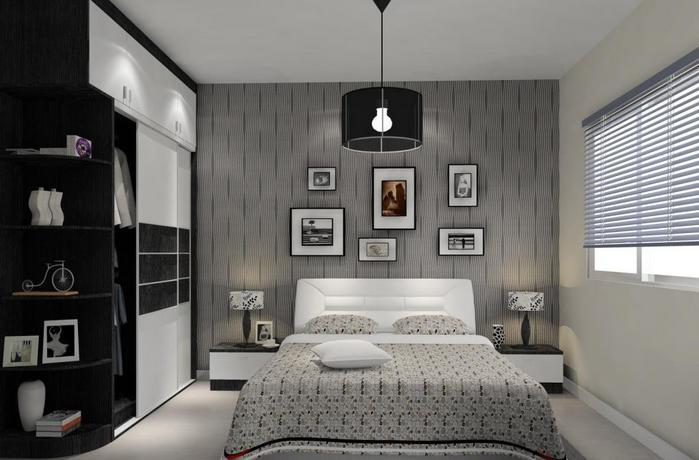 女生小卧室设计图的细节和颜色