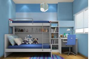 小书房带床设计图,让你的房间大不同