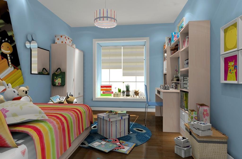 儿童房间家具摆设设计,哪一种最适合你呢?