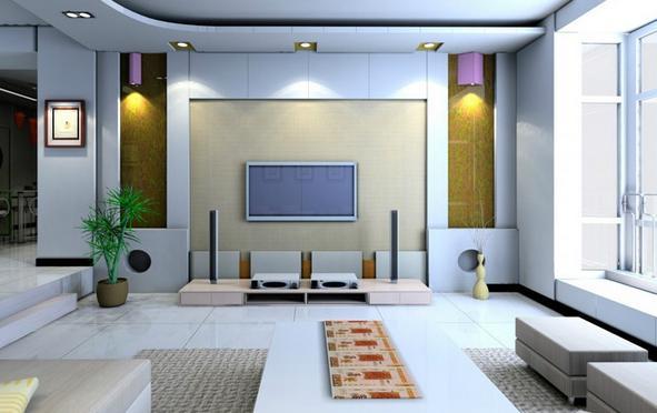 客厅电视墙墙纸图片,都看过了吗?