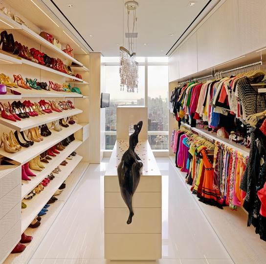 欣赏衣帽间鞋柜装修效果图