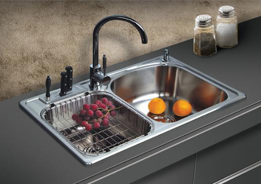 """厨房的""""心脏""""―厨房水槽尺寸规格"""