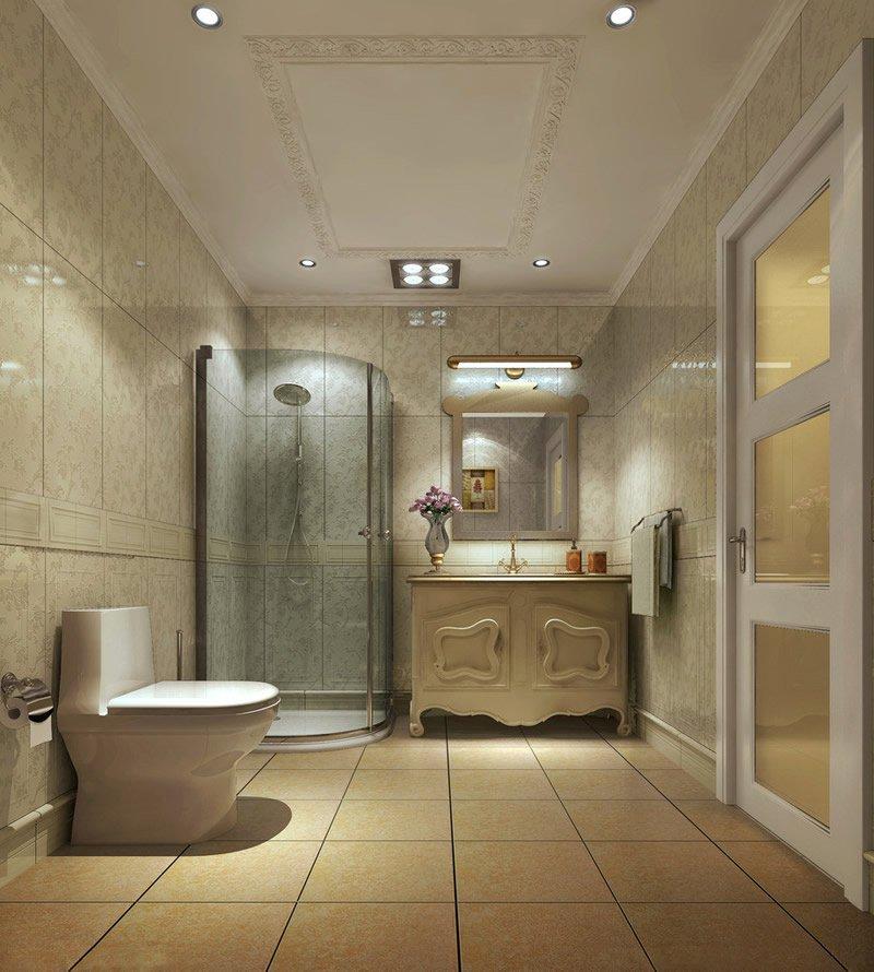 卫生间门口装修图很重要!