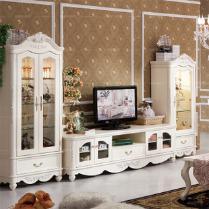 电视柜田园风格怎么选择