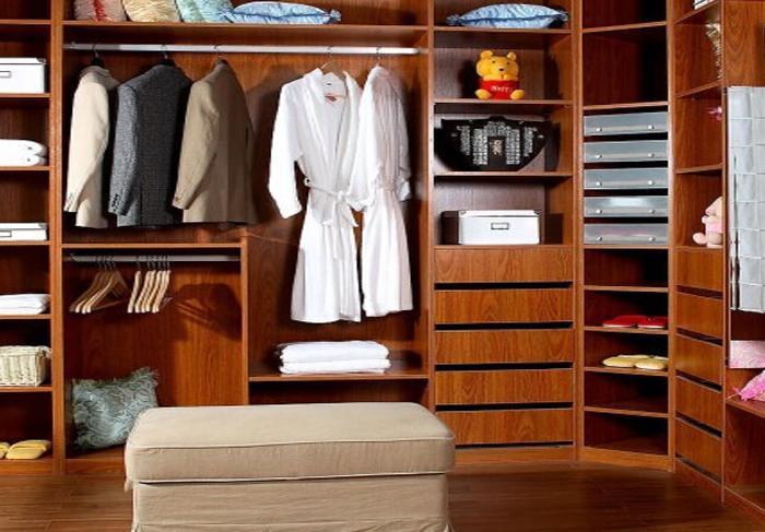 中式装修衣帽间的种类