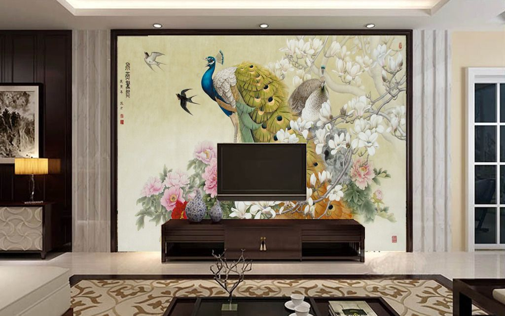 多款精美电视墙壁纸效果图赏析