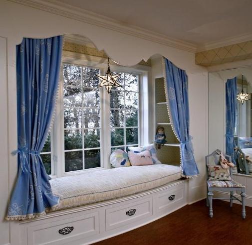 飘窗窗帘怎么做好