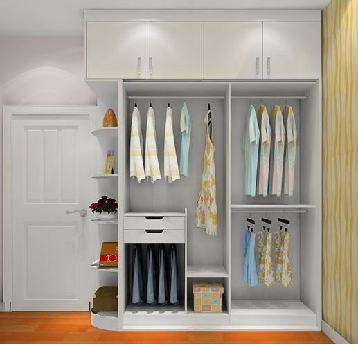 完美衣柜布局设计,衣物收纳更合理!