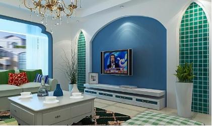 电视背景墙效果图欣赏