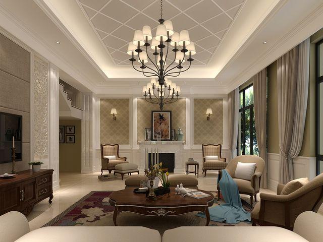 客厅吊顶设计原则,用对美醉了!