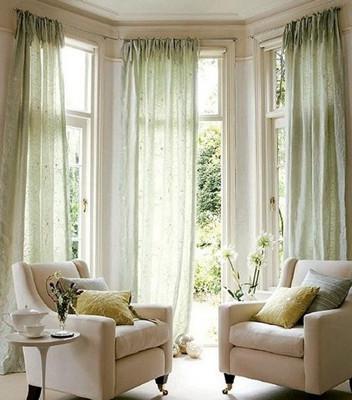 飘窗窗帘是否需要效果图