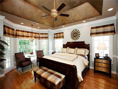 8款卧室吊顶装修效果图,设计不再难!