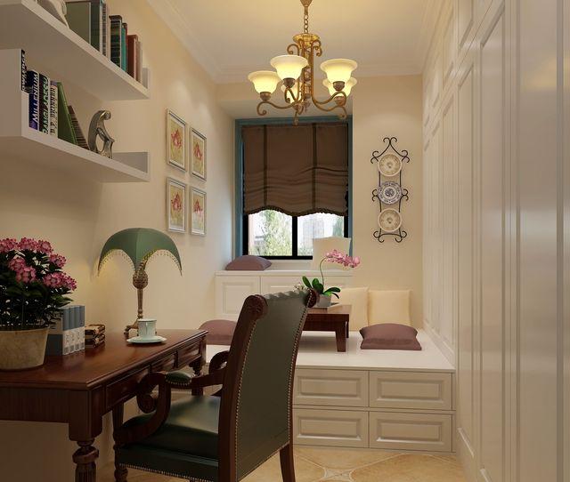 小书房设计图,让空间不再空闲