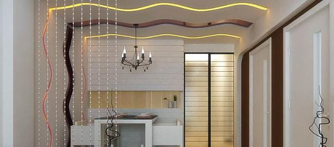 客厅吊棚造型效果图大全