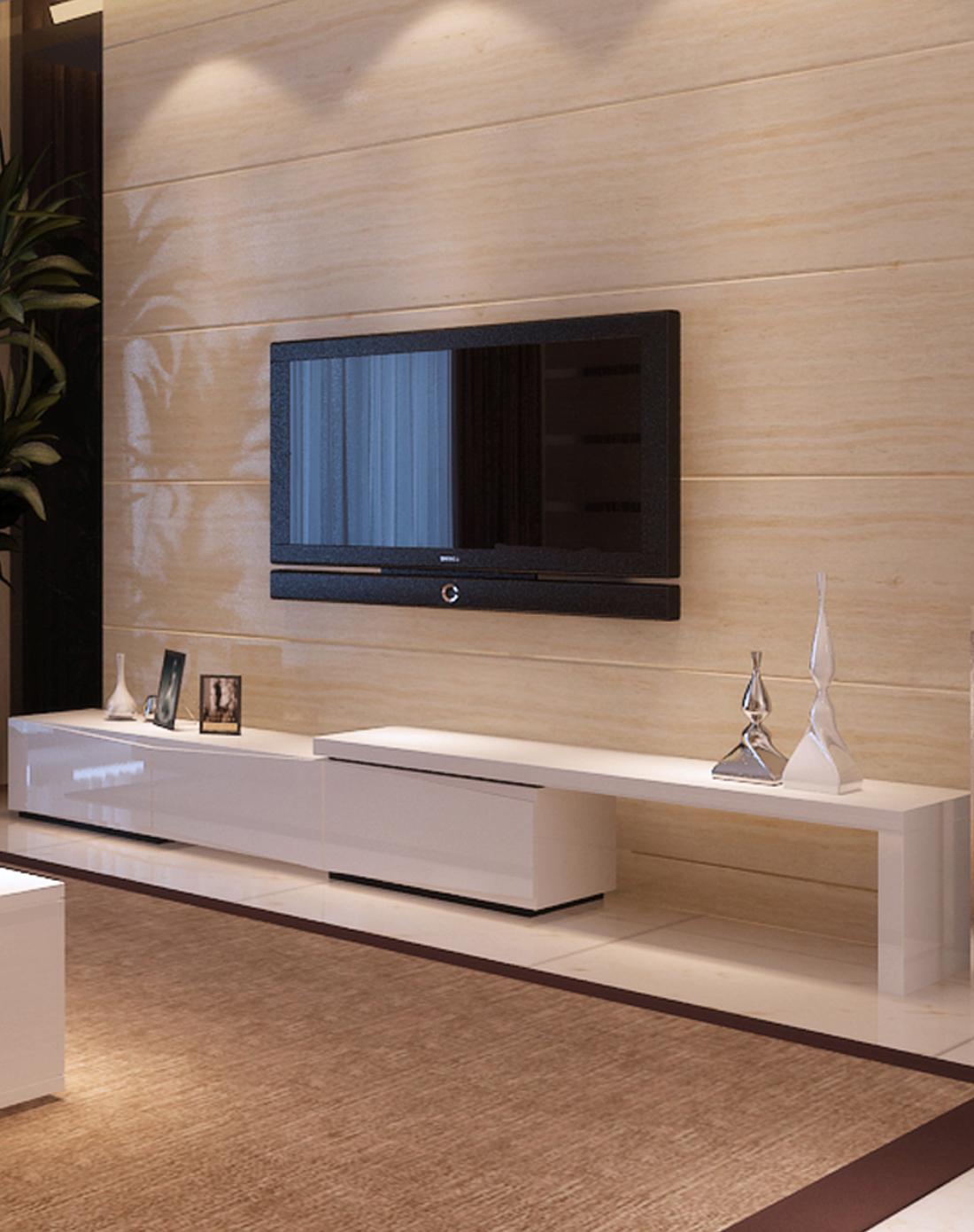 这样的电视柜,让你家的客厅颜值更高!