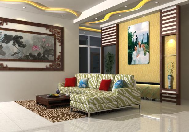 客厅吊棚造型效果图大全 客厅吊棚功能大揭密