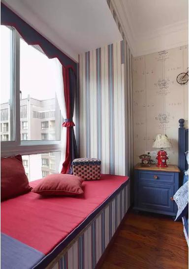 根据飘窗壁纸效果图去选择合适的装修