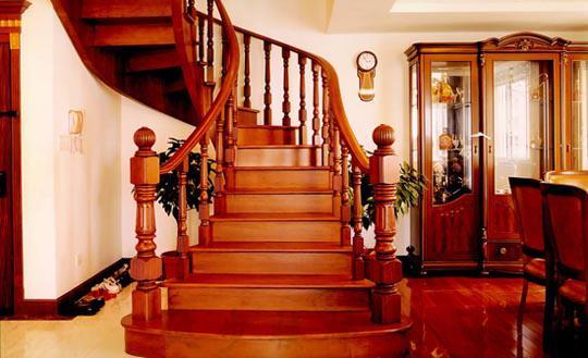 楼梯扶手图片类型多种多样,你知道吗?