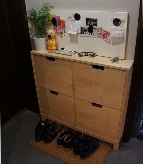 拥有鞋柜效果图时非常有必要的