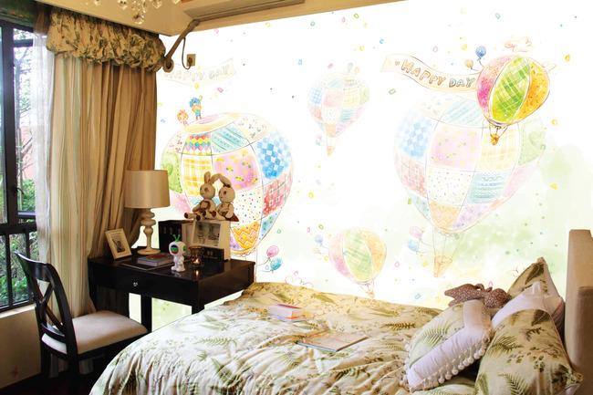 儿童房装修效果图,多彩冬日小空间