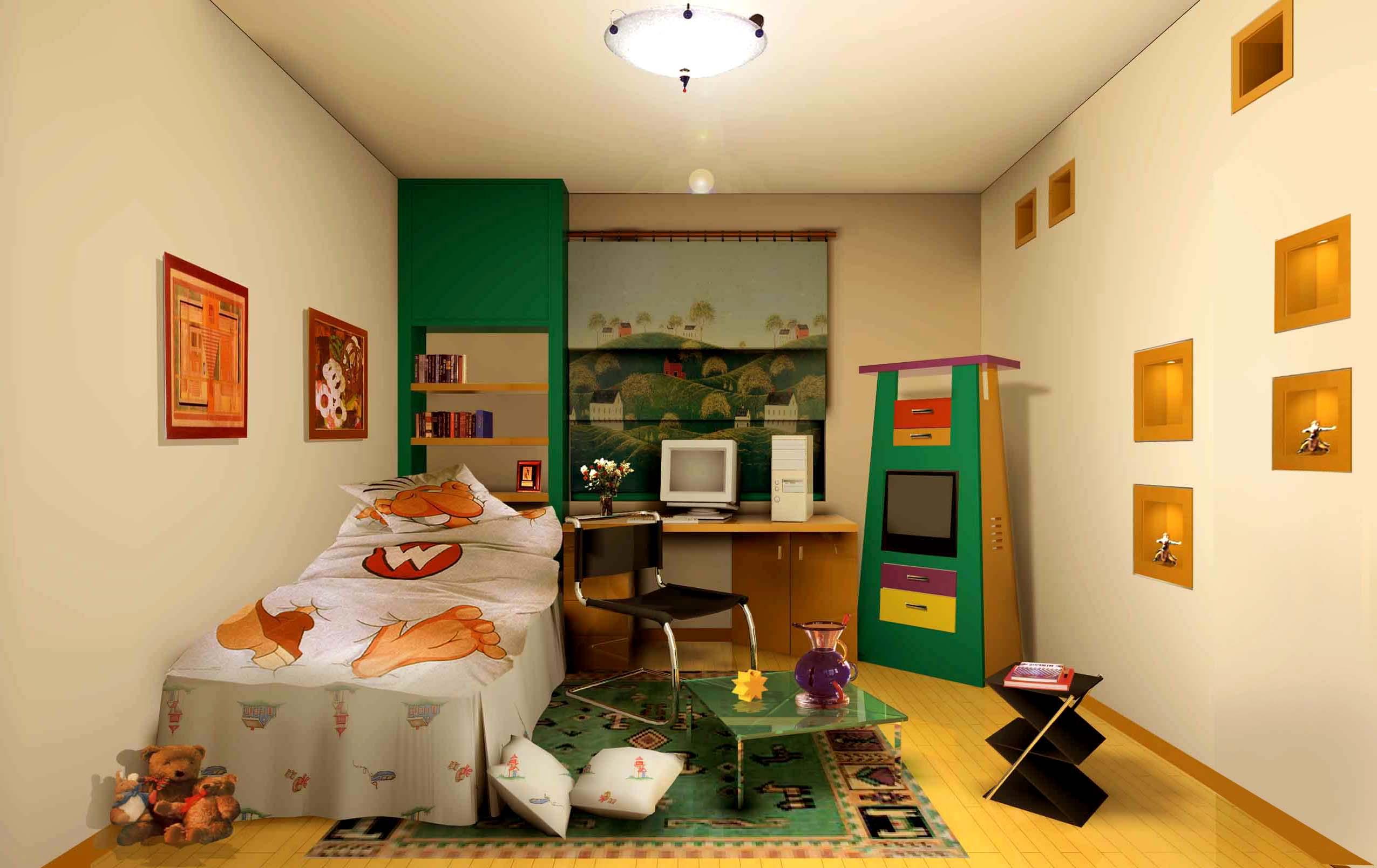 儿童房装修,不能忽视5大风水问题