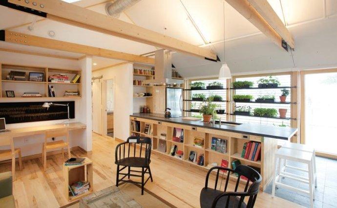 半开放式书房选位技巧,给家不一样的惊喜