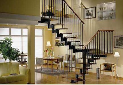 看楼梯装修效果图 你的楼梯也可以这样装修