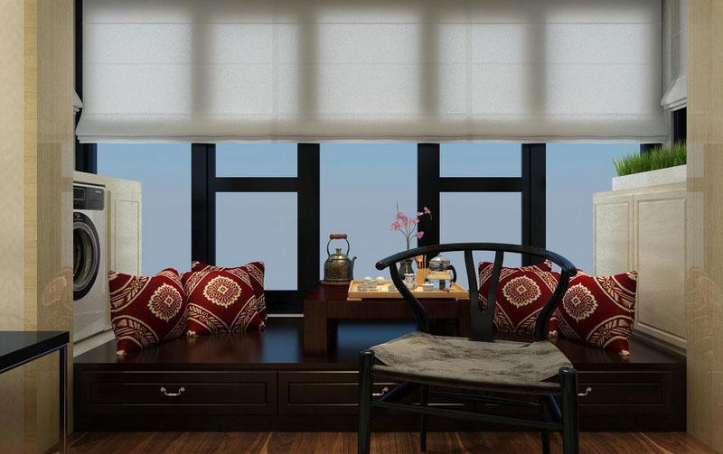 不同类型的阳台榻榻米效果图欣赏
